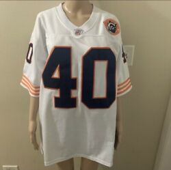Authentic Mitchell And Ness 1965 Chicago Bears Gale Sayers 40 Jersey 48 Xl Rare