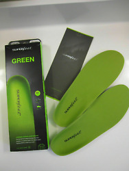 Superfeet Green Insoles Professional-grade High Arch Orthotic Insole-size F