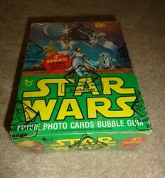 1977 Topps Star Wars Series 4 Wax Box Bbce Authenticated/ Wrapped
