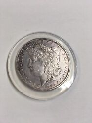1885 S Morgan Silver Dollar Unc Extremely Light Brush Marks In Field
