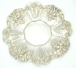 Antiques Reed And Barton Platter Tray Sterling Silver Francis I X569 Large Round