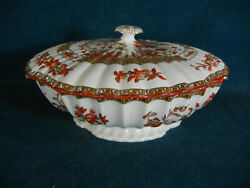 Copeland Spode India Tree Discounted 10 Square Covered Serving Bowl