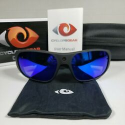Cyclops Gear Cgh20 Video Sunglasses Integrated Microphone - Polarized - 1080p