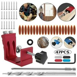 Red Drill Silver Woodworking 15anddeg Black Guide Set Jig Locator High Quality
