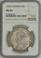 1935 Canada S 1 Ms66 Ngc 943553-6