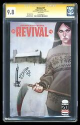 Revival 1a Frison 1st Printing Cgc 9.8 Ss 2012 1177340012
