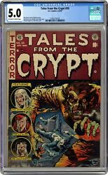 Tales From The Crypt 35 Cgc 5.0 1953 3763772018