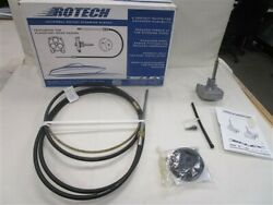 Uflex Rotech 17and039 Rotary Steering System Rotech17fc Cable Bezel Helm Marine Boat