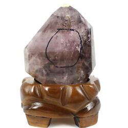 Rainbow Crystal Twinning Point Figurine With Natural Stone Water, N-f792