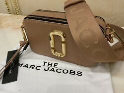 MARC JACOBS The Snapshot Small Camera Bag 100% Authentic New with Tag