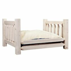 Montana Homestead Large Pet Bed With 30 X 40 Mattress In Lacquered Mwhcrdgv