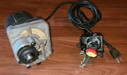 Sears Craftsman 137 Benchtop Table Saw Motor 15 Amp 5000rpm Rm872 With Switch ++