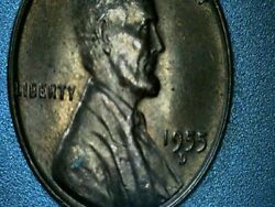 Us Coin Penny Error Double Die Rpm 1955 Dd Wrpm-002 Uncirculated Beautiful Coin