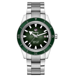 Rado Captain Cook Automatic 42mm Green Dial Stainless Steel Men's Watch R3210531