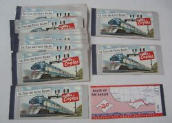 Lot Of 25 Old Vintage Texas And Pacific Railroad - Train Tickets - Ticket Books