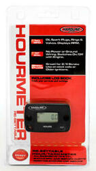Hardline Resettable Hour Meter/tachometer With Log Book