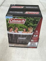 Coleman Saluspa Bahama 4 Person Inflatable Outdoor Hot Tub Air Jets Jacuzzi New