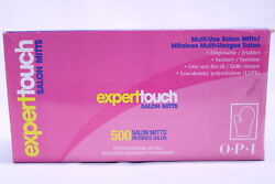 Opi Expert Touch 500 Salon Mitts Multi Use Disposable One Size Fits All