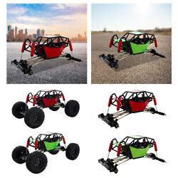Chassis And Tube Roll Cage For Scx10 4wd Crawler Car Vehicle For Adults Kids