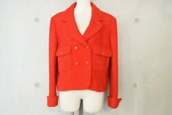 Used Good 97a P09216v05781 Vintage Mohair Mix Tweed Jacket No.6801
