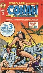 Conan The Barbarian, Vol. 1 Like New The Complete Marvel Conan Ace 11692 1978