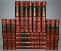 1832 The Works Of Lord Byron Life And Letters 17 Vols Fine Full Leather Binding