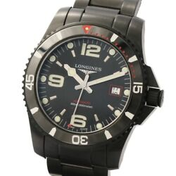 Longines Hydro Conquest Blackout L3.742.2 Limited To 500 In Japan With Box