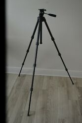 Camera Video Tripod Manfrotto Bogen 3405b Made In Italy 63 Height