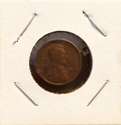 1925 Abraham Lincoln Wheat Copper Penny With No Mint Mark Extremely Rare