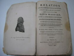 Relation The Captain Woodard In The Isle Of Celebes 2 Cards 3 Leaping 1805