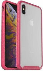 Otterbox Clear Case With Colorful Grip Edge For Apple Iphone Xs Max -shock Berry