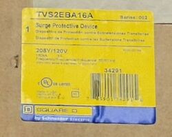 Square D Tvs2eba16a Surge Protective Device 208y/120v New