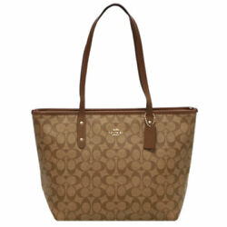 Up To 000 Yen Draw Cp Game Bag F58292-ime74 Coach Tote City Zip Neil Signature