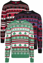 Urban Classics Jersey Sweater Pullover Man Christmas Over Sizes