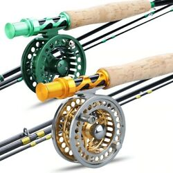 Fly Fishing Rod 2.7m Combo And Spinning Reels Set Sougayilang Guides Equipment