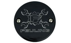Feuling Gear Cross Wrench Points Cover Black 9137 Harley Davidson