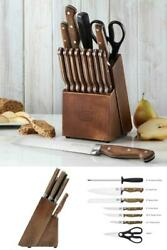 Chicago Cutlery Precision Cut 15-piece Set, High-carbon Stainless Steel Blades