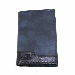 Menand039s Vertical Faux Leather Wallet Coin Purse Multi-pocket Credit Cards Coveri