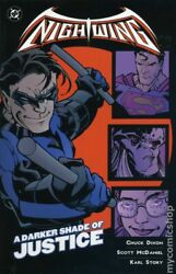 Nightwing A Darker Shade Of Justice Tpb 1-1st Fn 2001 Stock Image