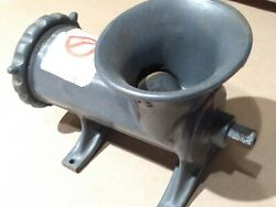 New Chop-rite Two 22 Hand Crank Meat Grinder Rarely Used Missing Handle