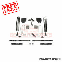 Fabtech 6 Basic System W/ Stealth Shocks For Ford F250 4wd 2017