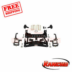 Rancho Suspension 4 Front And 2.5 Rear Lift Kit For 2010-2014 Ford F-150 Xlt 4wd