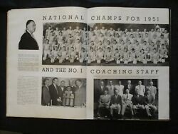 1952 University Of Tennessee Yearbook - 1952 Sec Baseball Champs Ncaa Runner Up