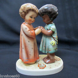 M.i. Hummel Friends Together Tmk 7 Unicef Collectible Figurine Limited Edition