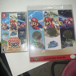 Super Mario 3d All-stars And Collectible Coins Both Factory Sealed