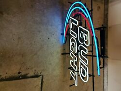 Bud Light Neon Sign With Dimmer