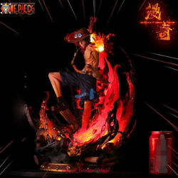 Monkey D Studio Portgas·d· Ace One Piece 16 Resin Statue Painted Figurine New