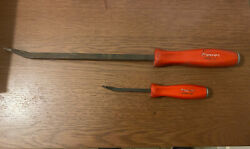 Snap On Snap-on Striking Pry Bar Set, Red Tools