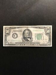 1934 50 Ulysses S. Grant Federal Reserve Note