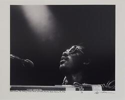 Jerry Aronson / Stevie Wonder 1976 Limited Signed 1st Edition